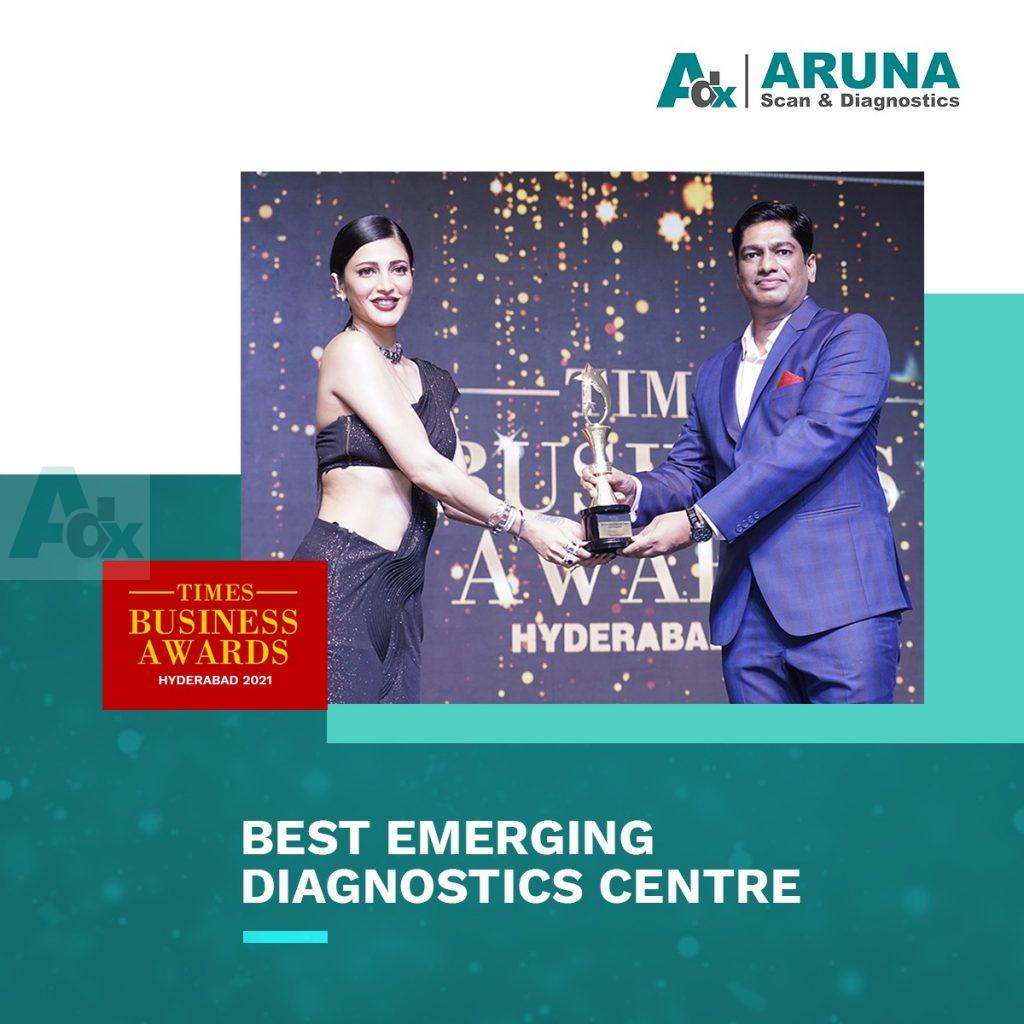 Best Emerging Diagnostic Centre by Times Business Awards 2021